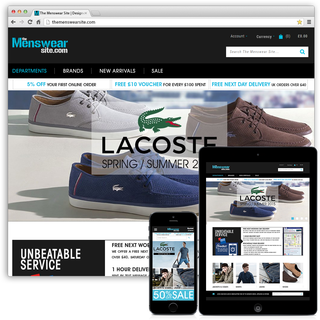 TheMenswearSite.com - Full Service eCommerce Management, Marketing, Product Photography