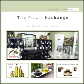 Gourmet Olive Oil Website Designed by Kevin King