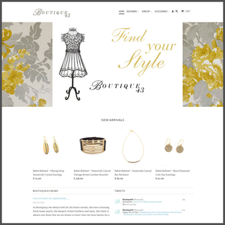 Pinehurst Websites - Ecommerce Setup Expert - Elegant apparel store