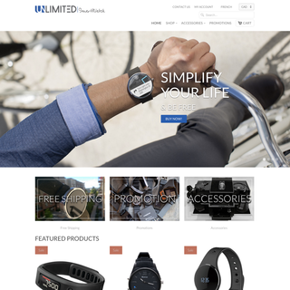 Motion Media - Ecommerce Designer / Developer / Marketer / Setup Expert - Unlimited Smartwatch - unlimitedsmartwatch.com