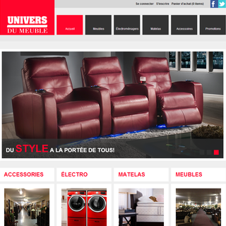 Motion Media - Ecommerce Designer / Developer / Marketer / Setup Expert - Univers du Meuble