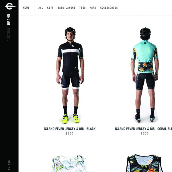 Shop Design and Build for Endo Customs, manufacturer of custom cycling apparel.