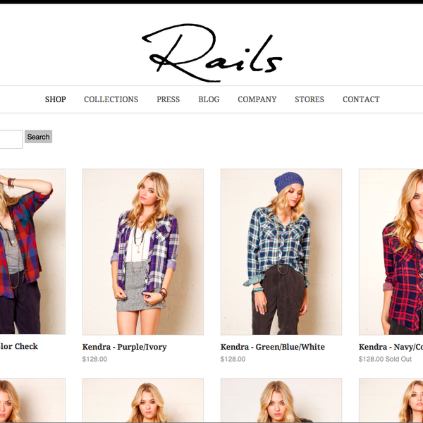 client: rails clothing