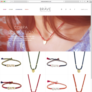The Brave Collection – http://thebravecollection.com