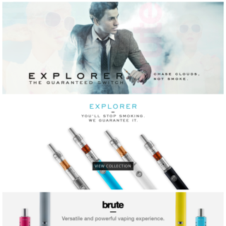They are unique in Vaping Industry. www.evolvevapors.com