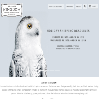 CarlowSEO - Ecommerce Designer / Marketer / Setup Expert - Full theme set up for Mr Ford's Kingdom