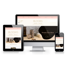Blooms Roastery & Craft Tea | Custom Theme Developement