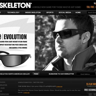 Pixccelerate - Ecommerce Designer / Marketer - www.skeletonoptics.com