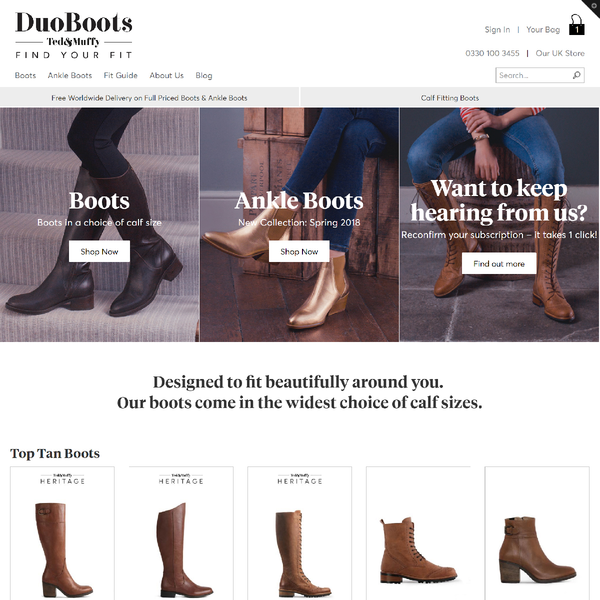 We built a Shopify Plus store for this global fashion retailer