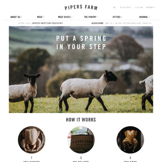 We helped Pipers Farm to reduce their management complexity by moving them to Shopify