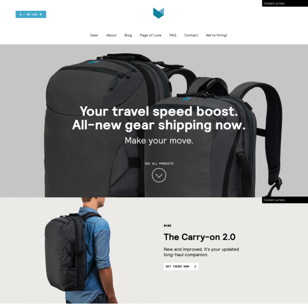 Minaal:  Faster, Happier and More Productive - Travel Gear - www.minaal.com