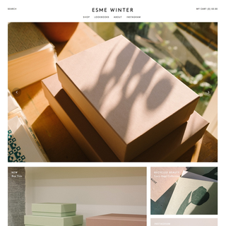 Esme Winter | esmewinter.co.uk