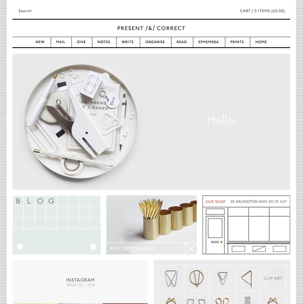 Present & Correct | presentandcorrect.com