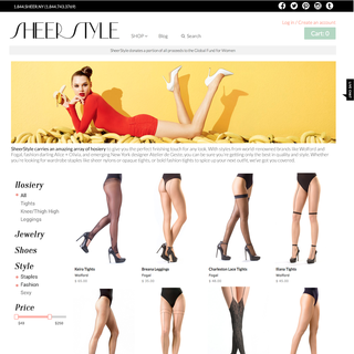 SheerStyle - Ecommerce Photographer - Editorial