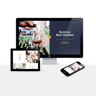 beerdabbler.com // Responsive Design, Development