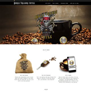 Buried Treasure Coffee- Unique Coffee Subscription
