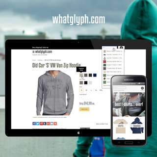 WhatGlyph.com - whatglyph.myshopify.com - Product fulfillment with ThePrintful.com
