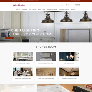 HUEMOR - Ecommerce Designer / Developer / Marketer - valleyhomelighting.com