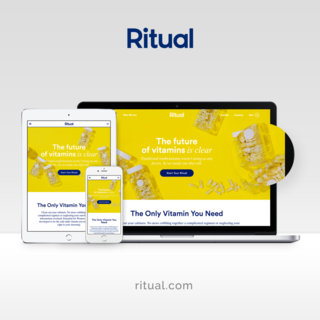Simplistic developed a custom theme for Ritual, a leading provider of women's vitamins.