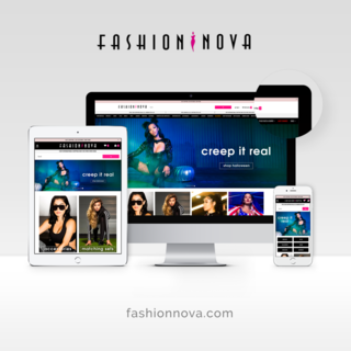 Simplistic designed and developed a custom theme for Fashion Nova