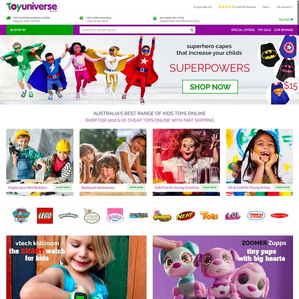 www.toyuniverse.com.au