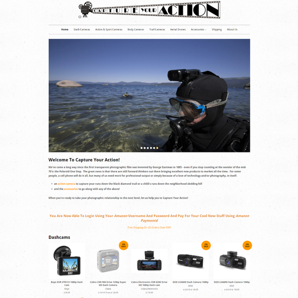 Capture Action: Action Cameras