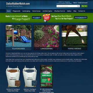 Hyperlinks Media, LLC - Ecommerce Designer / Marketer / Setup Expert - DallasRubberMulch.com