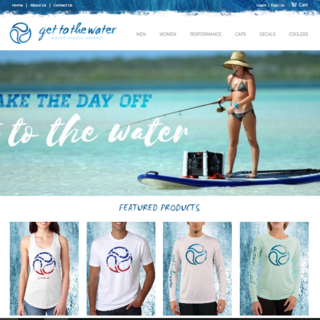 Get To The Water - Sports Apparel
