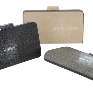 Shagreen Clutches