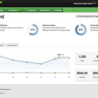 Refersion Dashboard (Shopify App)