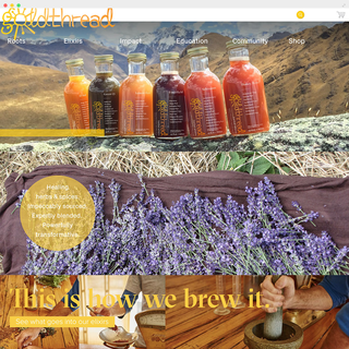 Goldthread Herbs: A specialty tonic retailer.