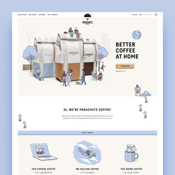 parachutecoffee.com