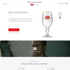 Water.org + Stella Artois  www.BuyALadyADrink.com
