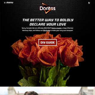 Doritos Canada  www.DoritosKetchupRoses.com
