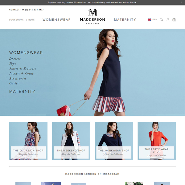 We rebuilt Madderson London's site to be fully responsive.