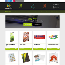 We re-launched Eazy Print's website with a new responsive design.