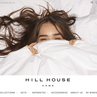 hillhousehome.com - complete store built