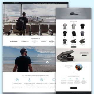 Unbound Merino - Shopify Store