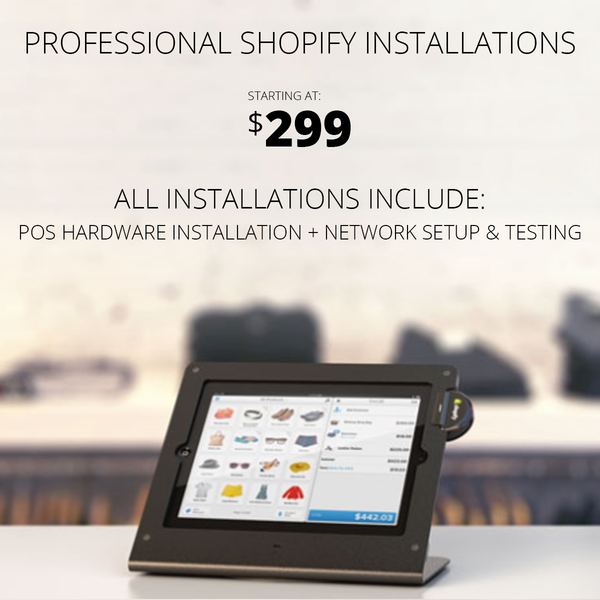 Professional installations are $299 for 3 hours of onsite support and $85/hr after that