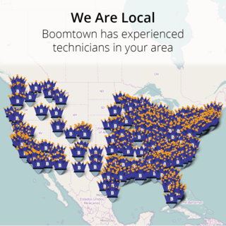 Boomtown has local technicians in your area