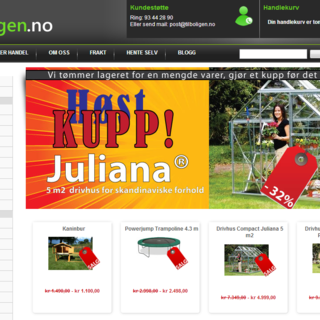 tilboligen.no - a successful retailer of everything for your house and garden. Located in Norway.