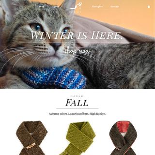 Lexi Ehrman - Ecommerce Designer / Developer / Photographer / Setup Expert - CatScarf.com Homepage