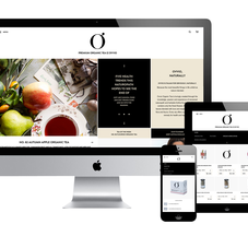 Ovvio: website and Shopify store
