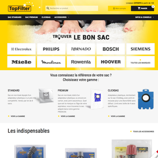 Homepage sacaspi-topfilter.com