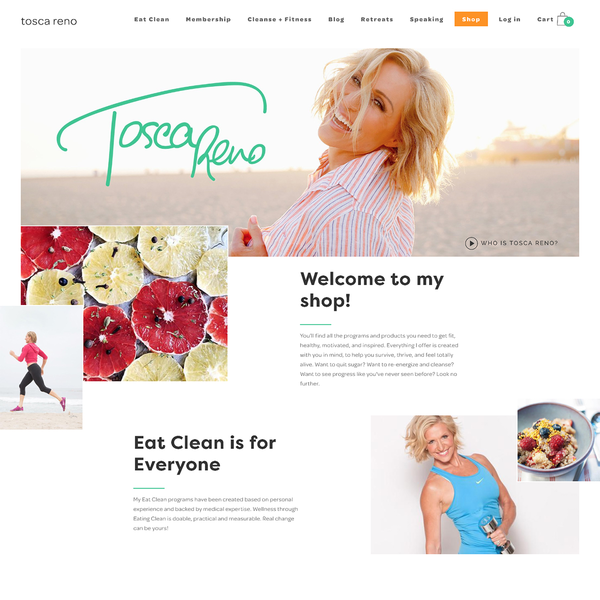 Tosca Reno | Health Coach & Best-selling author | Toronto | toscareno.com
