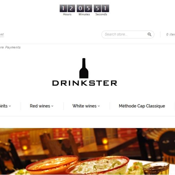 Select spirits & wine online retailer