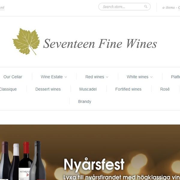 Fine wines online retailer