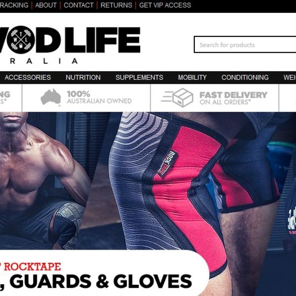WOD equipment online retailer