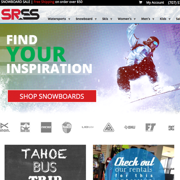 http://www.santarosaskiandsports.com | Boardsports equipment straight from Santa Rosa, CA