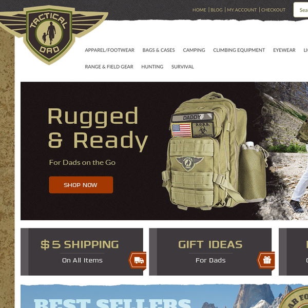http://www.tacticaldadpacks.com   Military grade diaper bags for dad